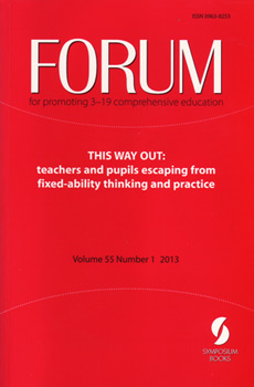 Forum book cover